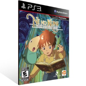 Ni No Kuni Wrath of The White Witch - Ps3 Psn Mídia Digital