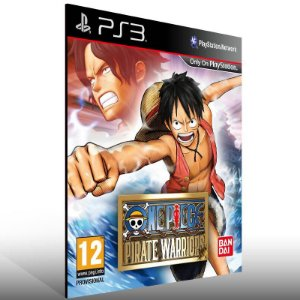 One Piece Pirate Warriors - Ps3 Psn Mídia Digital
