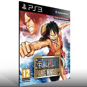 One Piece Pirate Warriors - Ps3 Psn Mídia Digital