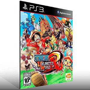 One Piece Unlimited World Red - Ps3 Psn Mídia Digital