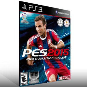 PES 15 - Ps3 Psn Mídia Digital