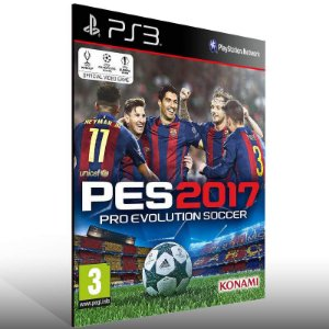 PES 17 - Ps3 Psn Mídia Digital