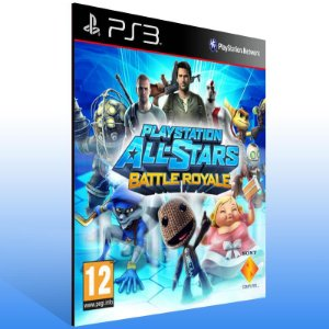 Playstation All Stars Battle Royale - Ps3 Psn Mídia Digital
