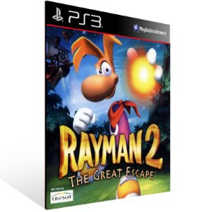 Rayman 2 The Great Escape (Psone Classic) - Ps3 Psn Mídia Digital