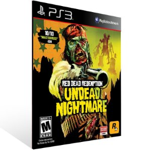 Red Dead Redemption Undead Nightmare - Ps3 Psn Mídia Digital