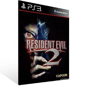Resident Evil 2 - Ps3 Psn Mídia Digital