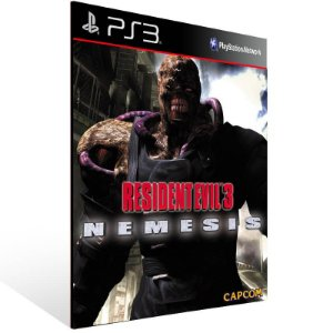 Resident Evil 3 - Ps3 Psn Mídia Digital