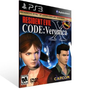 Resident Evil Code Veronica X - Ps3 Psn Mídia Digital