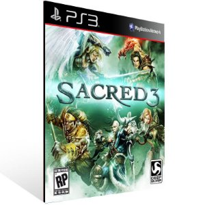 Sacred 3 - Ps3 Psn Mídia Digital