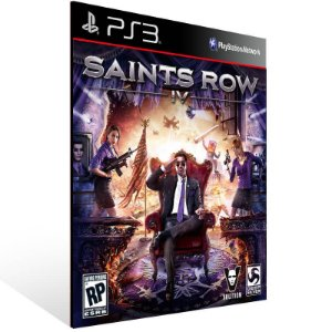Saints Row IV - Ps3 Psn Mídia Digital