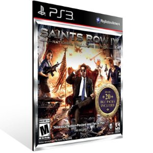 Saints Row Treasure - Ps3 Psn Mídia Digital