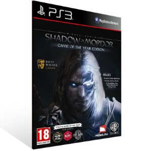 Shadow of Mordor Legion Edition - Ps3 Psn Mídia Digital