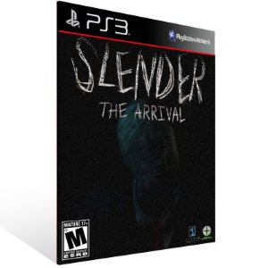 Slender The Arrival - Ps3 Psn Mídia Digital