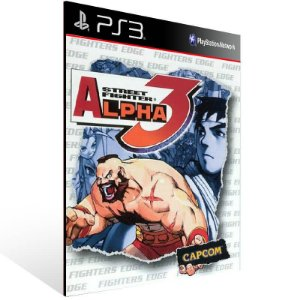 Street Fighter Alpha 3 - Ps3 Psn Mídia Digital