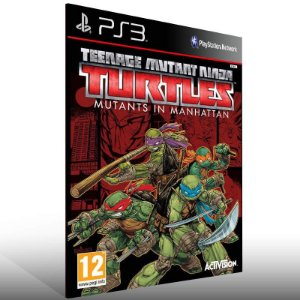 Teenage Mutant Ninja Turtles: Mutants In Manhattan - Ps3 Psn Mídia Digital