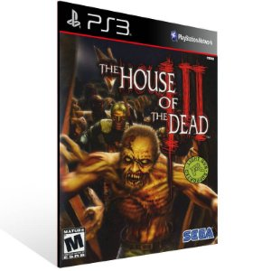 The House Of The Dead 3 - Ps3 Psn Mídia Digital