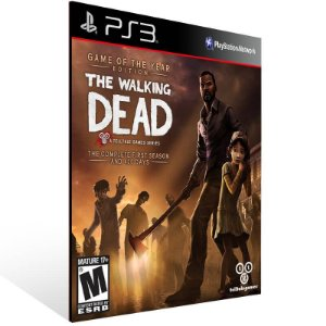 The Walking Dead The Complete First Season - Ps3 Psn Mídia Digital