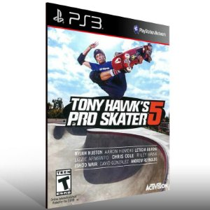 Tony Hawk's Pro Skater 5 - Ps3 Psn Mídia Digital
