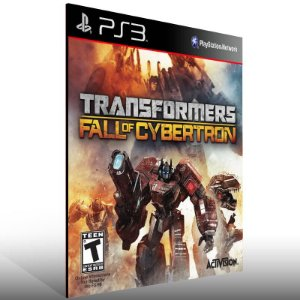 Transformers Fall of Cybertron Gold Edition - Ps3 Psn Mídia Digital