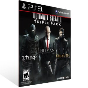 Ultimate Stealth Triple Pack - Ps3 Psn Mídia Digital