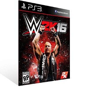 WWE 2K16 - Ps3 Psn Mídia Digital