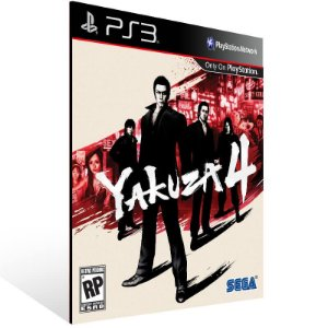Yakuza 4 - Ps3 Psn Mídia Digital