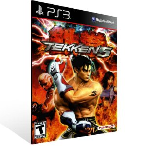 Tekken 5 Dark Resurrection - Ps3 Psn Mídia Digital