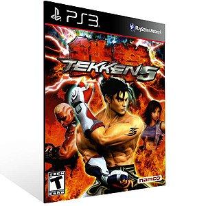 Tekken 5 Dark Resurrection - Ps3 Psn Mídia Digital