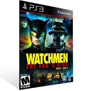 Watchmen The End is Nigh - Ps3 Psn Mídia Digital