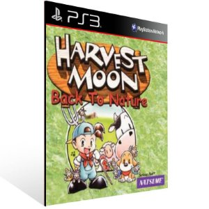 Harvest Moon Back To Nature (Psone Classic) - Ps3 Psn Mídia Digital