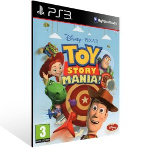 Toy Story Mania - Ps3 Psn Mídia Digital
