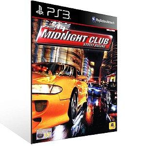 Midnight Club (Ps2 Classic) - Ps3 Psn Mídia Digital