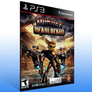 Ratchet Deadlocked - Ps3 Psn Mídia Digital