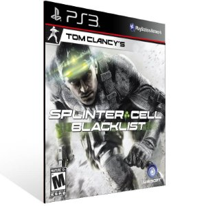 Tom Clancys Splinter Cell Blacklist - Ps3 Psn Mídia Digital