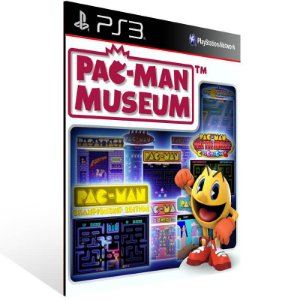 Pac Man Museum - Ps3 Psn Mídia Digital