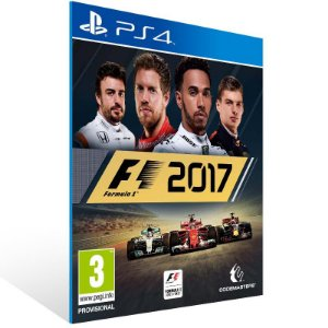 F1 2017 - Ps4 Psn Mídia Digital