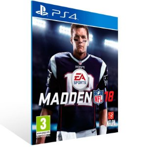 Madden NFL 18 Standard Edition - Ps4 Psn Mídia Digital
