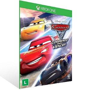 Carros 3: Correndo Para Vencer - Xbox One Live Mídia Digital