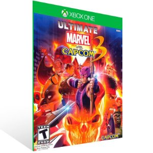 Ultimate Marvel Vs Capcom 3 - Xbox One Live Mídia Digital