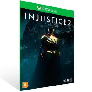 Injustice 2 - Xbox One Live Mídia Digital