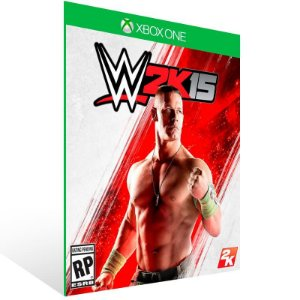 WWE 2K15 - Xbox One Live Mídia Digital