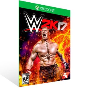 WWE 2K17 - Xbox One Live Mídia Digital
