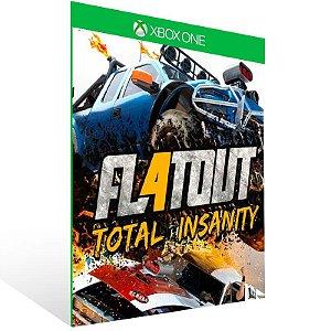 Flatout 4 Total Insanity - Xbox One Live Mídia Digital