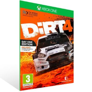 Dirt 4 - Xbox One Live Mídia Digital