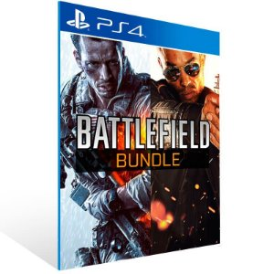 Battlefield 4 + Hardline Bundle - Ps4 Psn Mídia Digital
