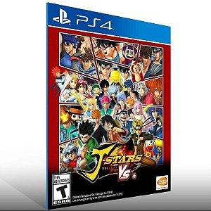 J Stars Victory Vs - Ps4 Psn Mídia Digital