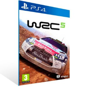 Wrc 5 Fia World Rally Championship - Ps4 Psn Mídia Digital