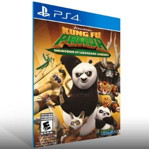 Kung Fu Panda Showdown Of Legendary Legends - Ps4 Psn Mídia Digital