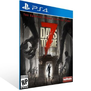 7 Days To Die - Ps4 Psn Mídia Digital