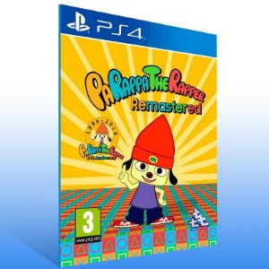 Parappa The Rapper Remastered - Ps4 Psn Mídia Digital